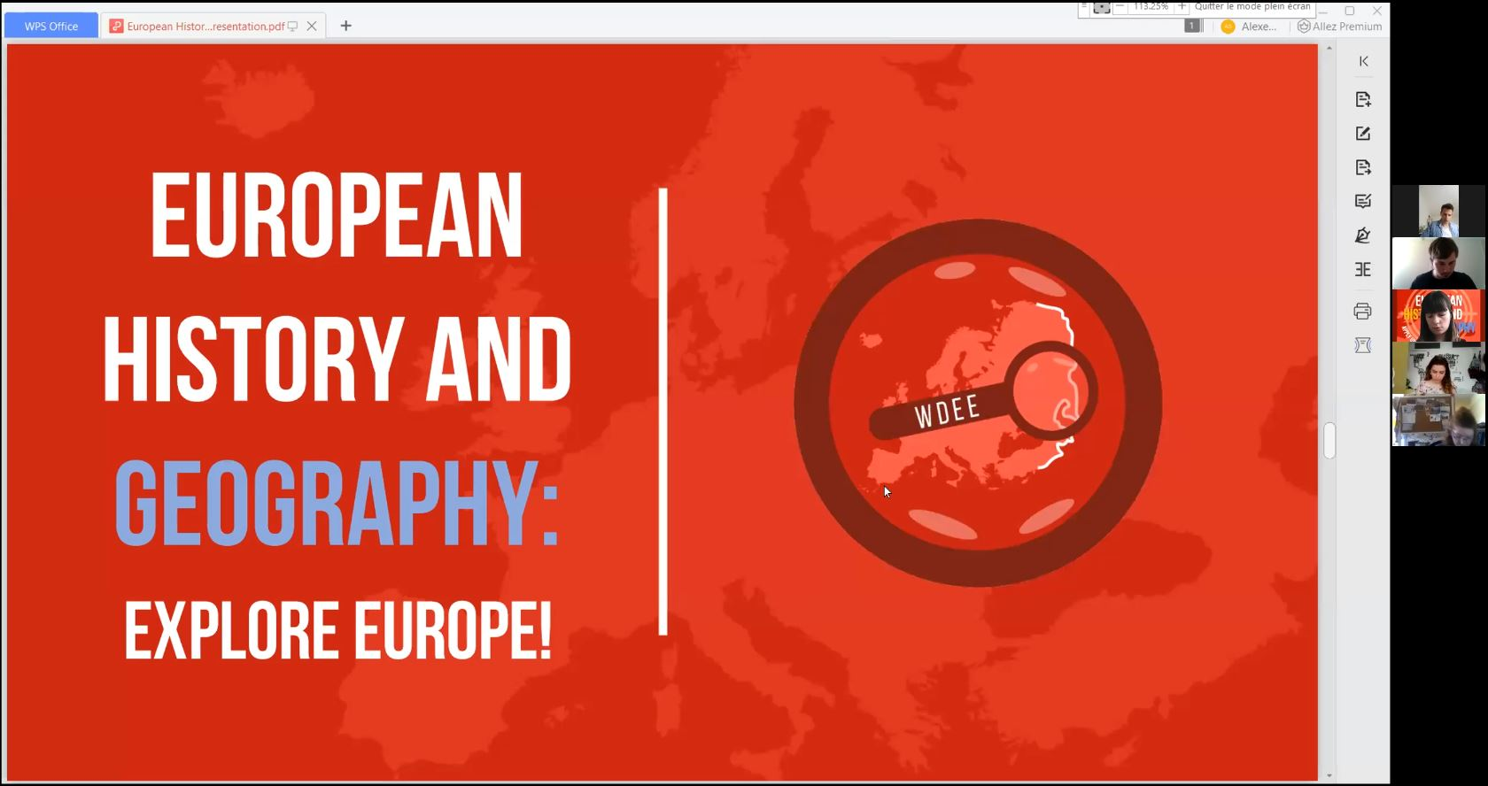 Exploring Europe through history and geography!